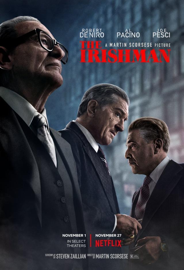 O Irlandês | Netflix exibirá o filme de Scorsese nos cinemas brasileiros