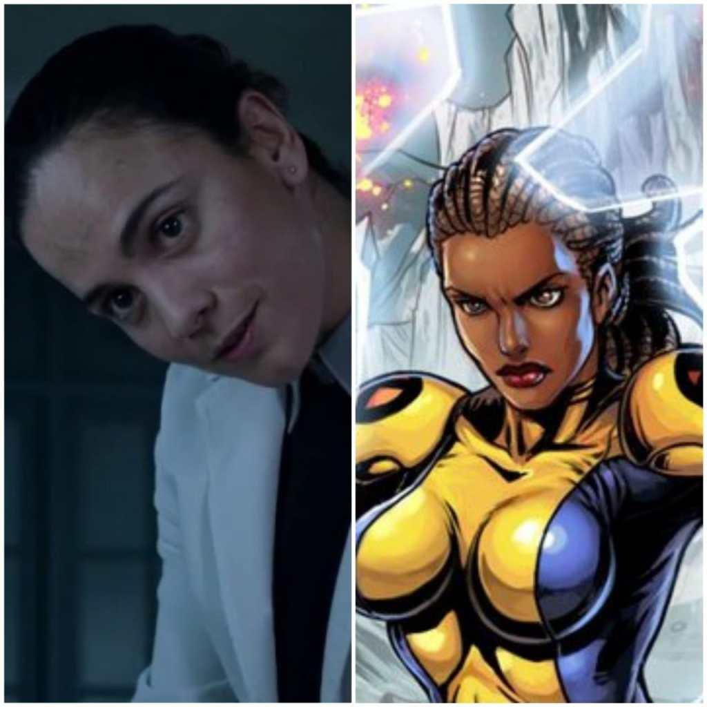 """Resultado de imagem para Cecilia Reyes os novos mutante"""""""